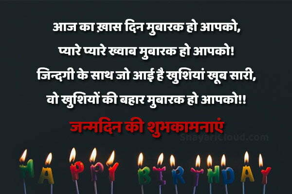 Happy Birthday Wishes In Hindi 2020 with images