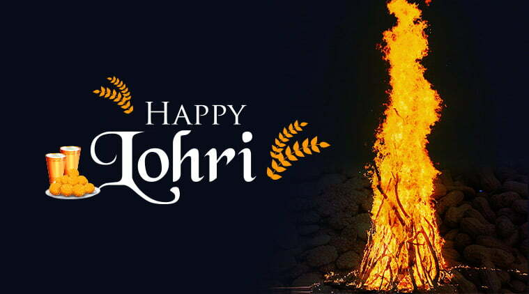 Happy Lohri Wishes images to Download
