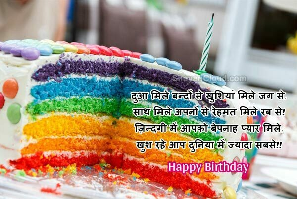 Happy Birthday Shayari with Images to download