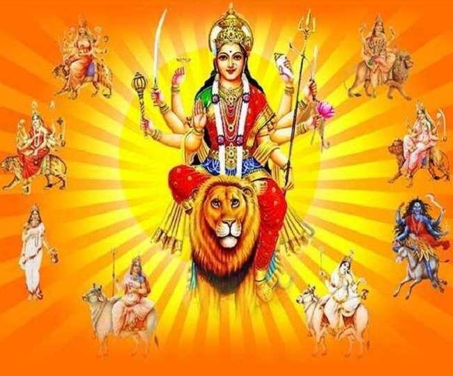 happy navratri images in hindi download